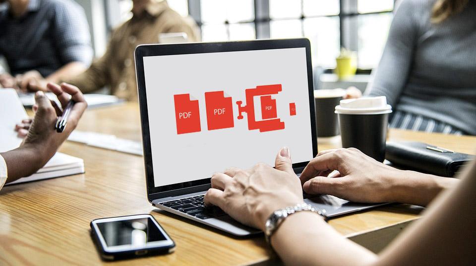 Réduire la taille d'un fichier PDF: comment faire?