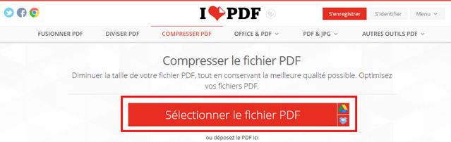 Reduire un fichier pdf