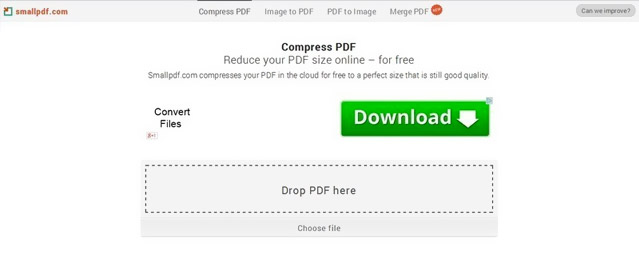 Small PDF compression