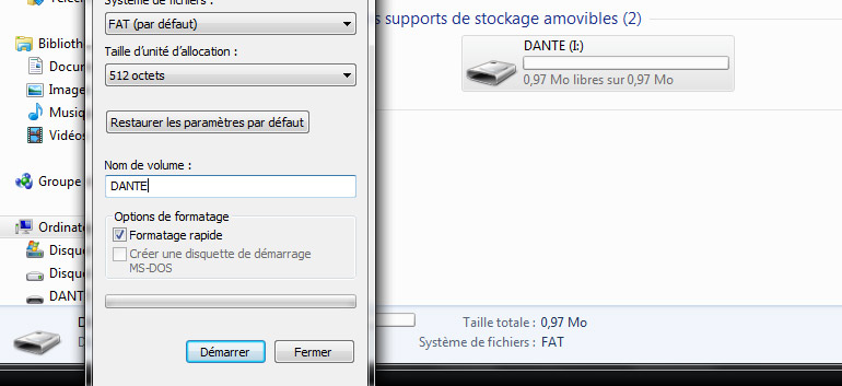 formatage-sd-windows
