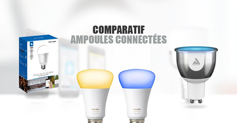 Ampoule connectée : comparatif des modèles