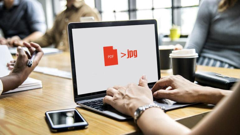 Comment convertir un PDF en JPEG ?