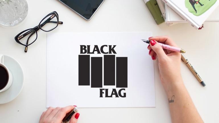 Logo parfait, timing parfait : L'histoire de Black Flag